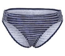 Bikini Hose 'donna Beach' navy / weiß
