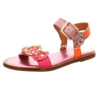 Sandalen dunkelorange / pitaya / rosé