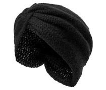 Turban-Mütze schwarz