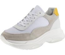 Sneaker gelb / grau / offwhite