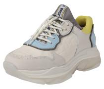 Sneaker 'Baisley' hellblau / gelb / offwhite
