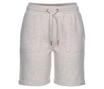 Shorts beigemeliert