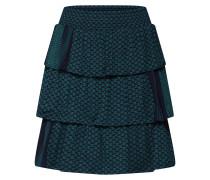 Rock 'Becky Skirt' blau / grün