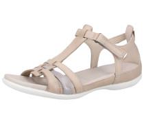 Sandale taupe / hellgrau