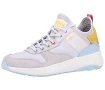 Sneaker hellblau / gelb / grau / pink