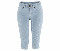 Caprijeans blue denim