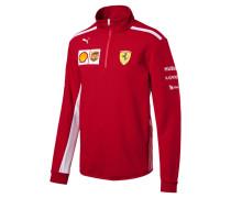 'Ferrari' Fleece Sweatshirt rot