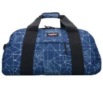 Reisetasche 'Station' blau / weiß