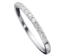 Ring: Verlobungsring / Vorsteckring / Memoire Weißgold