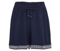 Shorts 'houston' dunkelblau / weiß