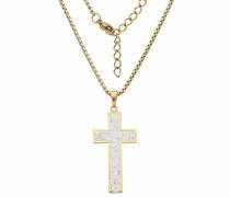 Kreuzkette gold
