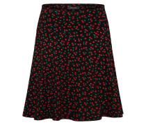 Rock 'Circle Border Skirt Cherise'