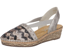Slipper bronze / silber