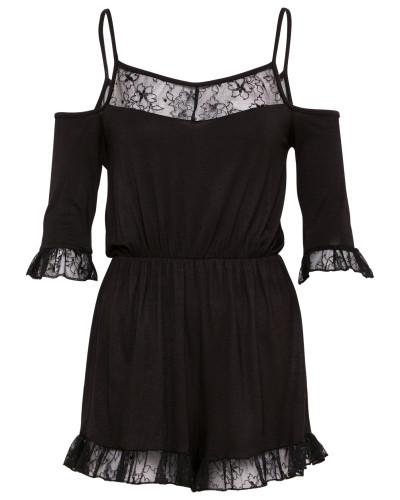 'Julie' Jumpsuit schwarz