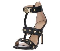 High Heels 'Tiffy' gold / schwarz