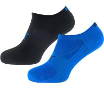 Sneakersocken blau / schwarz