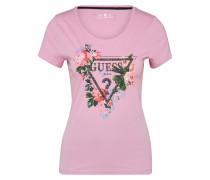 Shirt mit Ziersteinbestaz mischfarben / pink