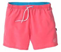 Badeshorts aqua / pink