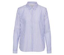 Bluse im Streifenlook blau / weiß