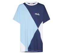 Shirt 'azzura' blau / hellblau / weiß