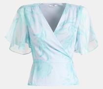 Bluse opal / hellblau
