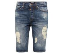 'Solomon' Denim Shorts blue denim