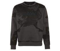 Sweatshirt 'Core s 3 r sw l/s' schwarz