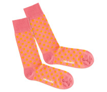 Socken 'Salmonella' pink