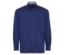 Langarm Hemd Comfort FIT blau