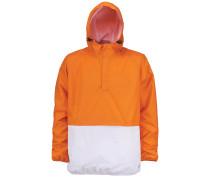 Funktionsjacke 'Smithfield' orange / weiß