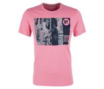 Jerseyshirt navy / pink