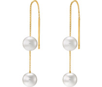 Ohrhänger 'Pearls' gold