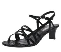 Sandale 'Birkin Snake ' schwarz