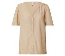 Bluse 'pccecilie' beige