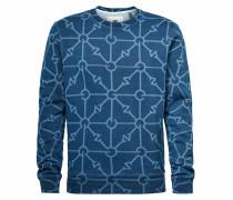 Sweatshirt ' Gradient Indigo ' blau