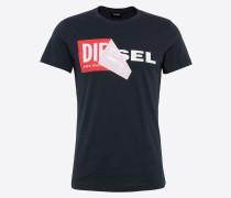 T-Shirt 't-Diego-Qa' dunkelblau