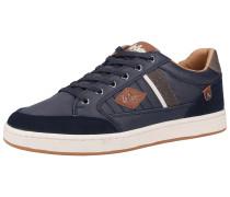 Sneaker dunkelblau / braun