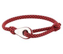 Armband 'Sport' rot / schwarz