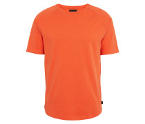 T-Shirt 'side' dunkelorange
