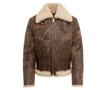 Lederjacke 'l-Balasovi Jacket' braun