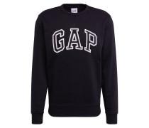 Sweatshirt 'arch Crew' schwarz / weiß