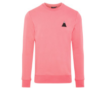 Throw C-Neck Pullover pink