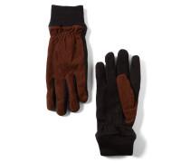 Handschuhe rostbraun / schwarz