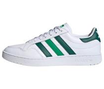 Schuhe 'Team Court' weiß / grün