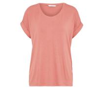 Lässiges T-Shirt rosa