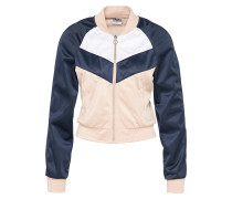 Trainingsjacke navy / puder