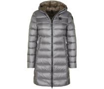 Mantel silber