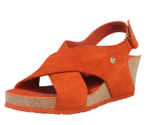 Sandale 'Valeska' orangerot