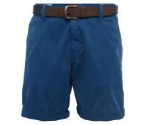 Chino Shorts 'Plek' blau