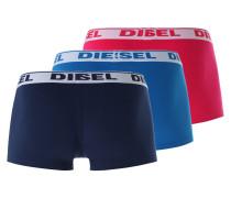Pants im 3er-Pack türkis / dunkelblau / rot